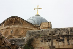 Holy Sepulcher Outside Dome