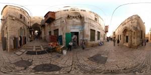 Muslim Quarter in Jerusalem