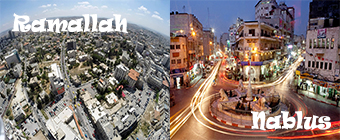 Nablus and Ramallah