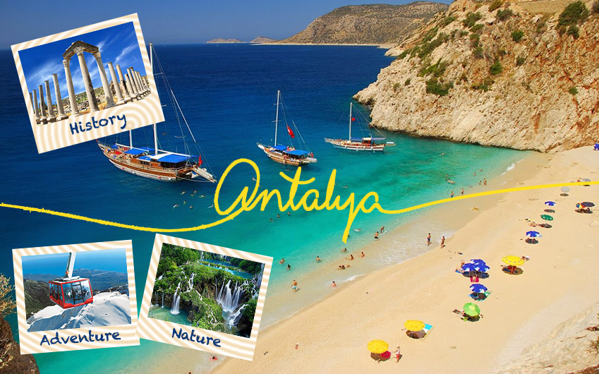 Find your hotel in Antalya on the map